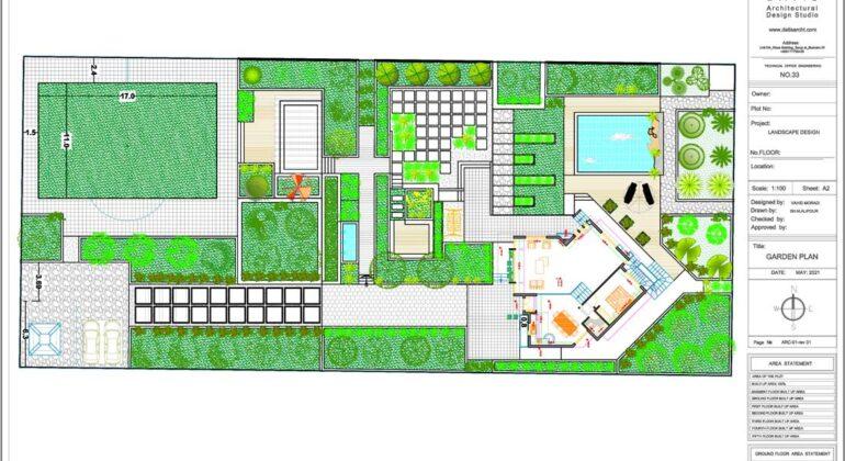 طراحی محوطه ساختمان