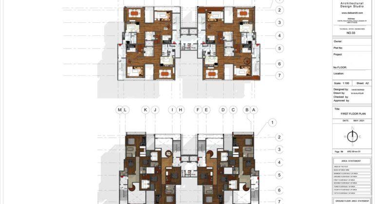 طراحی ساختمان لاکچری